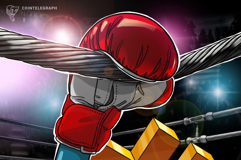 El precio de Bitcoin cae un 6.5% en minutos después de alcanzar el muro de ventas de $ 28.4K