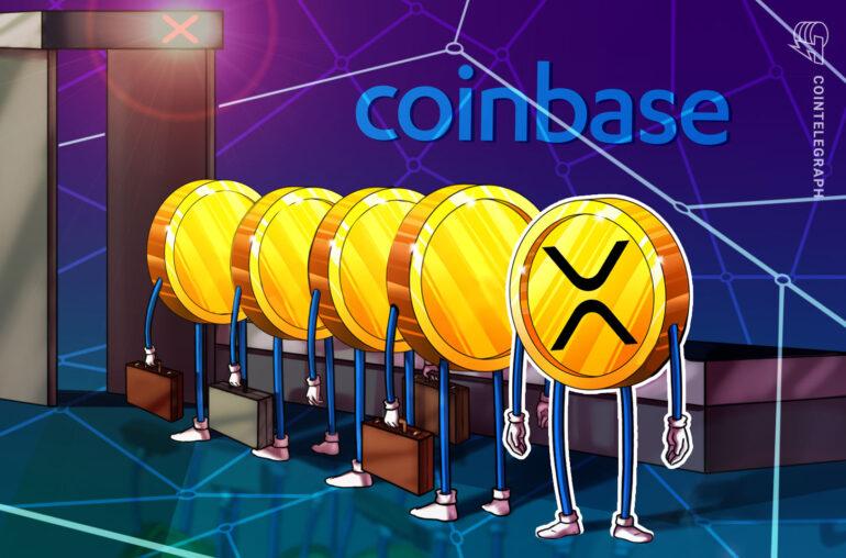 Coinbase anuncia que suspenderá el comercio de XRP a medida que el precio caiga otro 10%