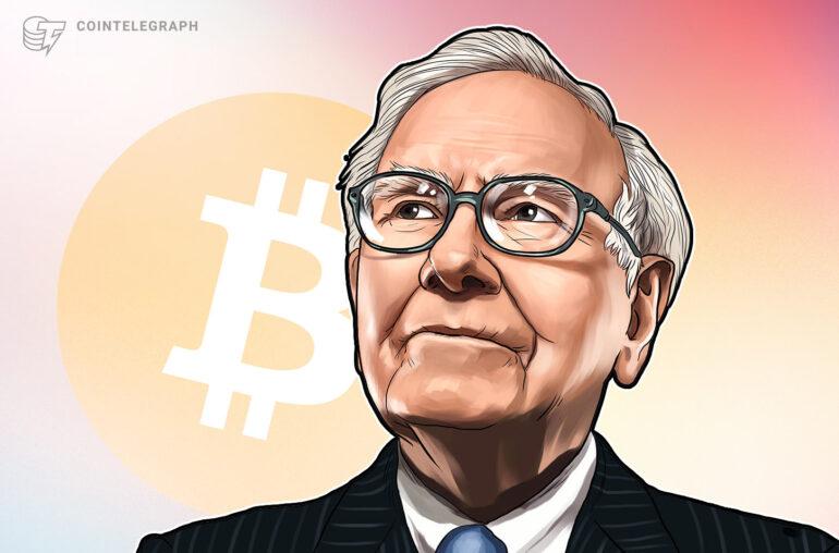 Bitcoin 'veneno para ratas al cuadrado' supera a Berkshire Hathaway de Warren Buffett por capitalización de mercado