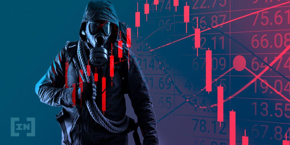 $ 550 millones en liquidaciones de Bitcoin a medida que el precio cae por debajo de $ 19,000