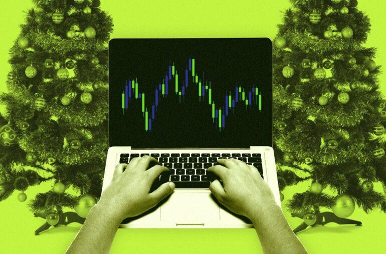Los comerciantes de criptomonedas lamentan la intensa sesión navideña