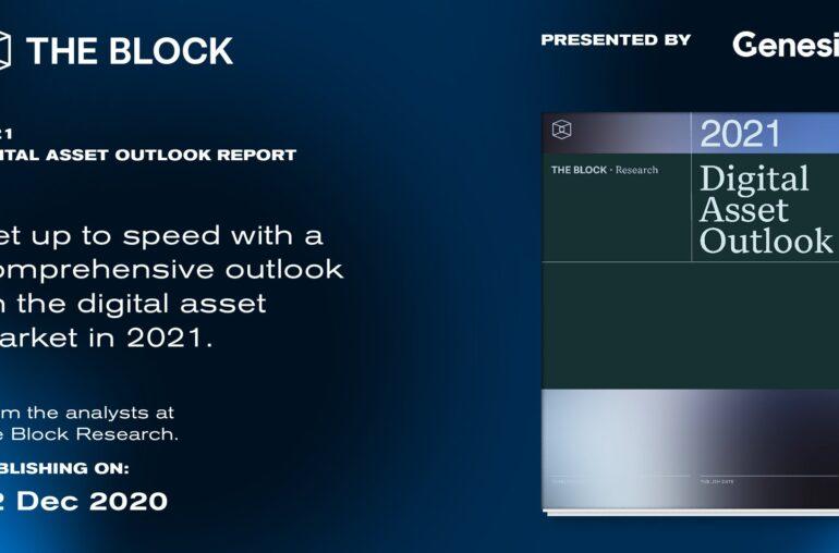 The Block Research - Perspectiva de activos digitales para 2021 |  Informe disponible para descargar el 22 de diciembre