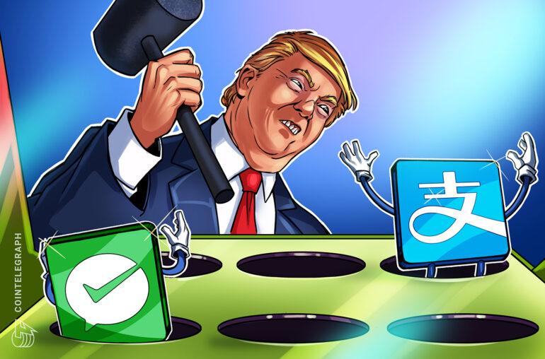 Trump prohíbe las aplicaciones de pago chinas, incluidas AliPay y WeChat Pay