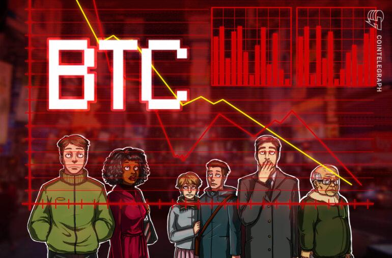 Estos 5 gráficos muestran por qué el precio de Bitcoin no logró superar los $ 35K