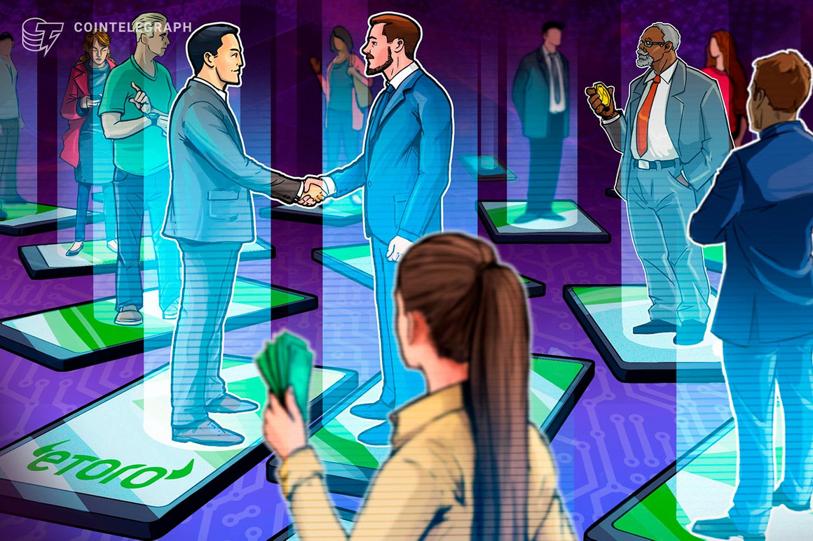 La plataforma de comercio social eToro finalizó 2020 con $ 600 millones en ingresos