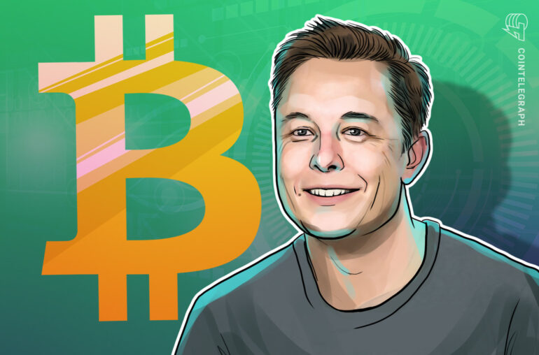 Elon Musk agrega Bitcoin a la biografía de Twitter con 43.7 millones de seguidores