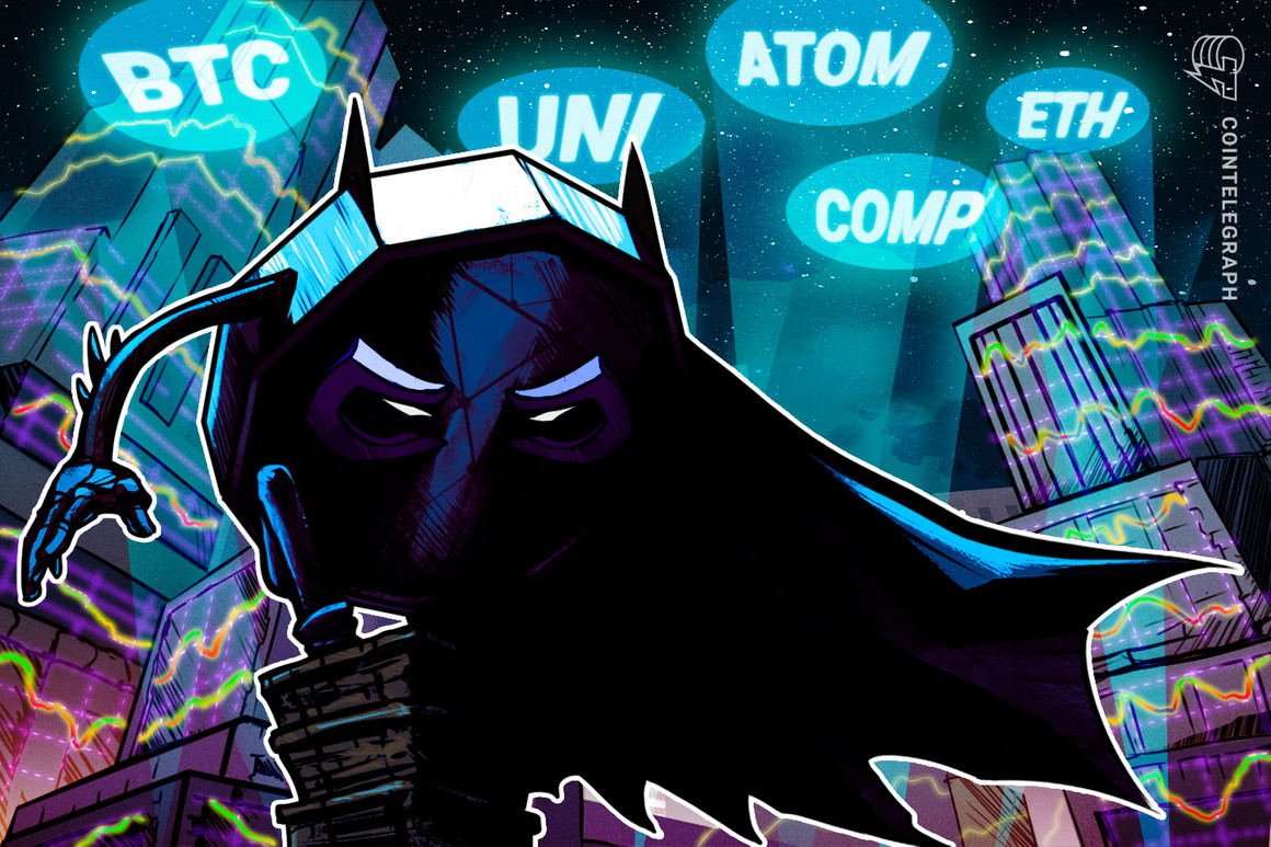 Las 5 principales criptomonedas a tener en cuenta esta semana: BTC, ETH, UNI, ATOM, COMP