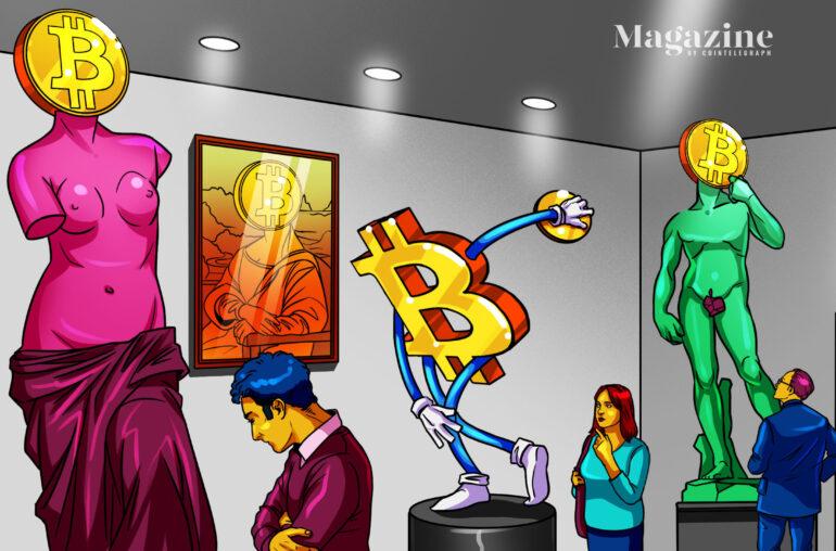 Physical Bitcoin art