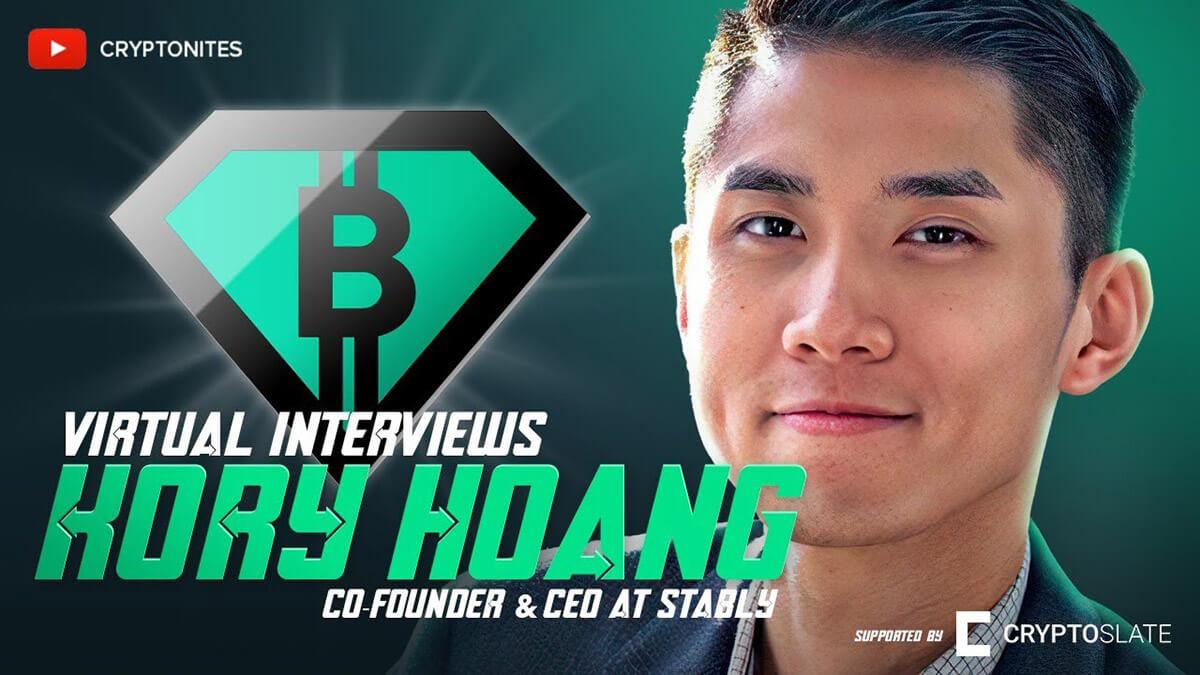 El CEO de Stably, Kory Hoang, explica cómo los principiantes deben comprar Bitcoin (y hacia dónde se dirigen las stablecoins)