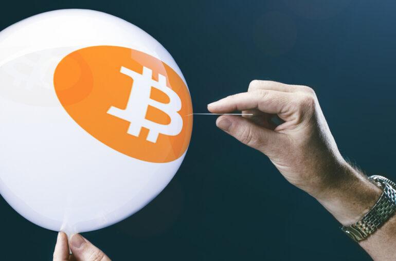 La formación de cuña de ampliación de Bitcoin indica un colapso por debajo de $ 30,000
