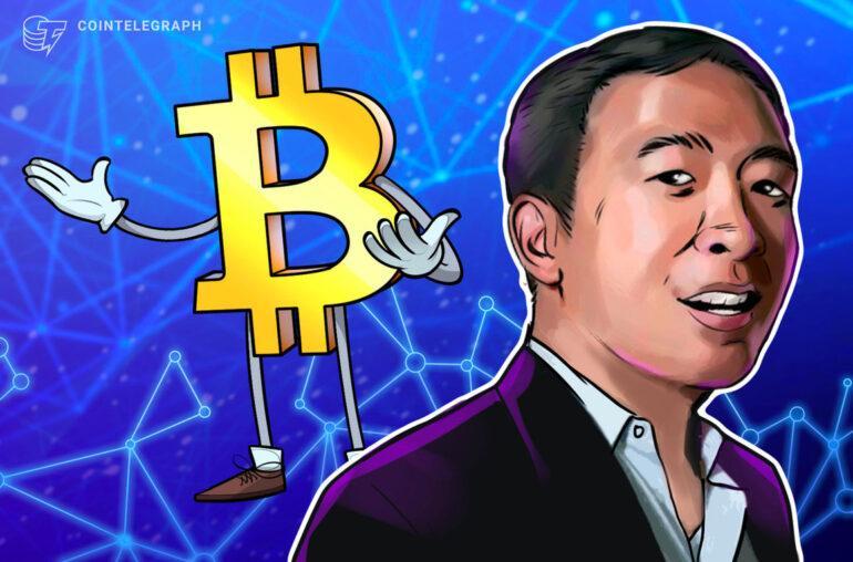 Andrew Yang dice que transformará la ciudad de Nueva York en un centro de Bitcoin si es elegido alcalde