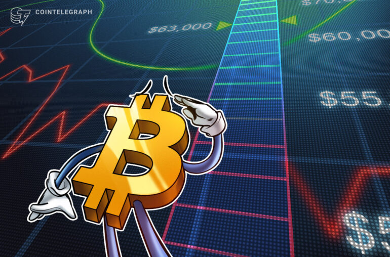El precio de Bitcoin espera $ 63K a continuación, ya que el creciente dominio de BTC pone en riesgo las monedas alternativas