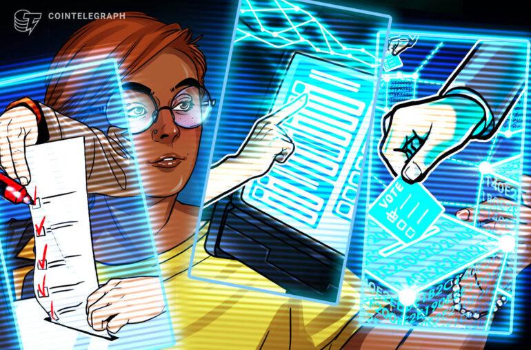 La votación evolucionó: la tecnología Blockchain eclipsa las papeletas y el voto electrónico