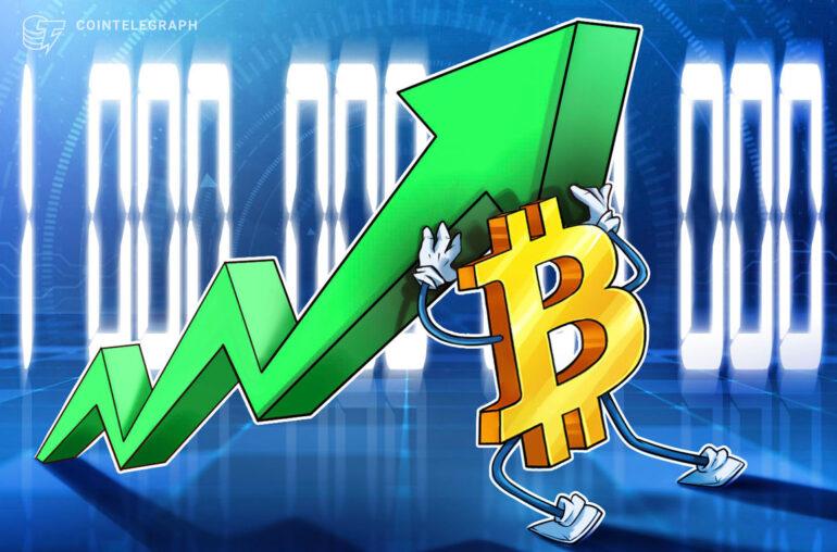 La capitalización de mercado de Bitcoin rompe $ 1 billón después de triplicarse en tres meses
