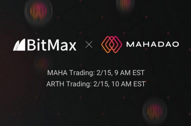 MahaDAO para enumerar MAHA y ARTH con BitMax.io