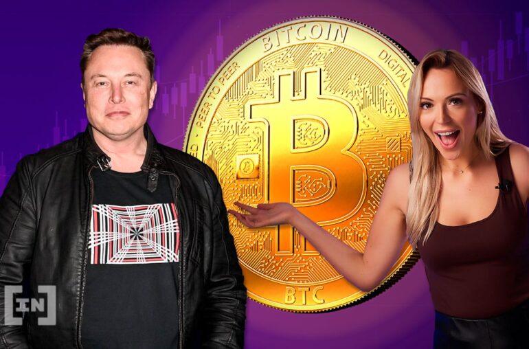Programa de noticias de video criptográfico de BIC: Elon Musk respalda Bitcoin, Tesla toma una posición enorme en BTC