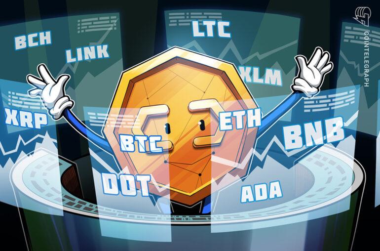 Análisis de precios 3/3: BTC, ETH, ADA, BNB, DOT, XRP, LTC, LINK, BCH, XLM