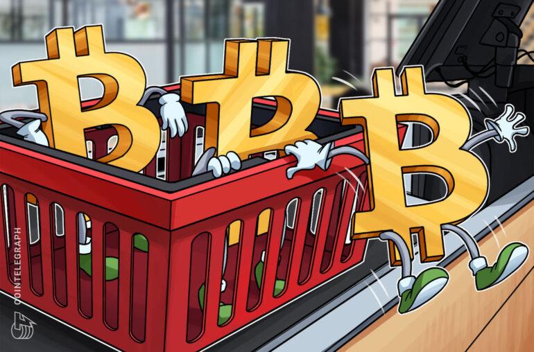 La cantidad de BTC retenidos en intercambios se desplomó un 20% en 12 meses