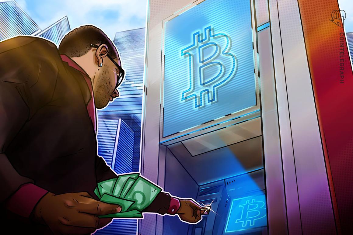 El número de cajeros automáticos de Bitcoin en los EE. UU. Aumentó un 177% durante el año pasado