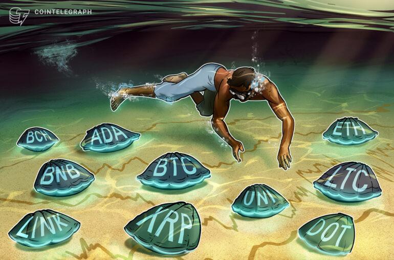 Análisis de precios 3/10: BTC, ETH, BNB, ADA, DOT, XRP, UNI, LTC, LINK, BCH