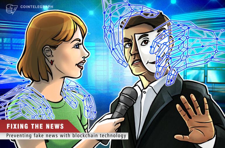 Blockchain puede acabar con las noticias falsas y reconstruir la confianza en los medios de comunicación