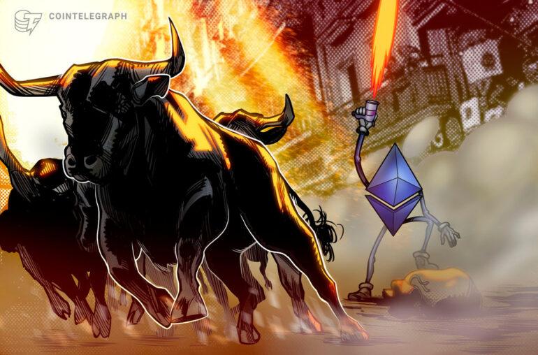 Los toros de Ethereum atraídos por el soporte de $ 1,750 y la falta de liquidaciones de ETH