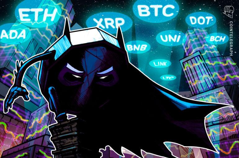 Análisis de precios 17/3: BTC, ETH, BNB, ADA, DOT, XRP, UNI, LTC, LINK, BCH