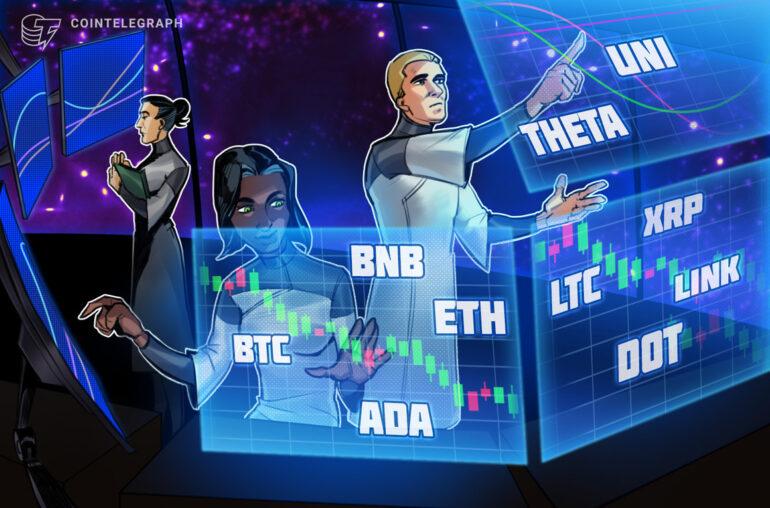 Análisis de precios 24/3: BTC, ETH, BNB, ADA, DOT, XRP, UNI, THETA, LTC, LINK