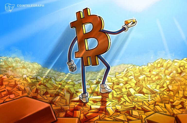 Bitcoin supera al oro en la batalla de los refugios seguros