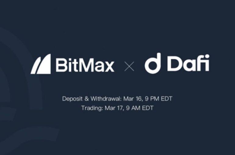DAFI listará el token DAFI con BitMax
