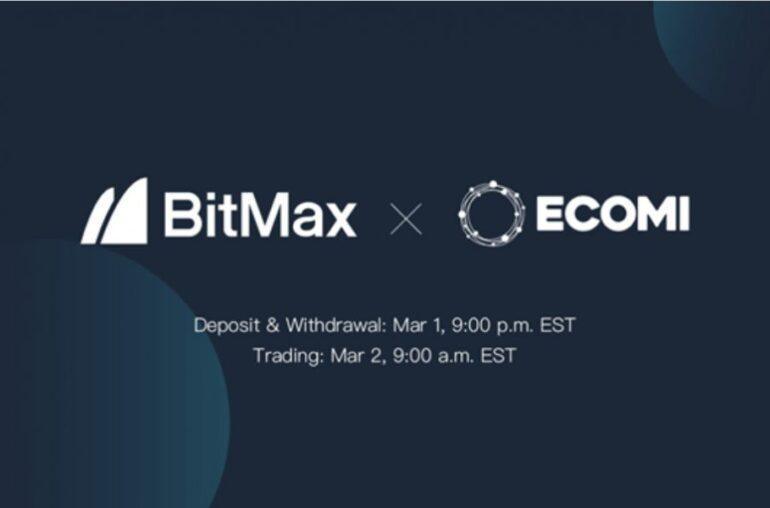 ECOMI para enumerar tokens OMI con BitMax