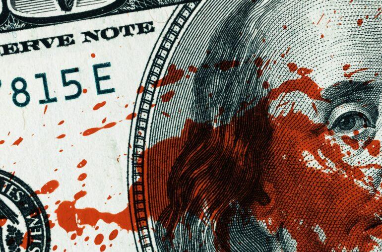 Explicación del papel del dólar en el baño de sangre de Bitcoin
