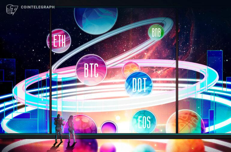 Las 5 principales criptomonedas a tener en cuenta esta semana: BTC, ETH, BNB, DOT, EOS