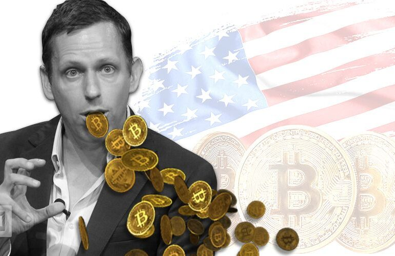 Peter Thiel: China usa Bitcoin como un 'arma financiera'