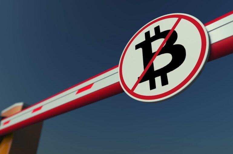 El banco comienza a bloquear las acciones de las empresas que compran Bitcoin