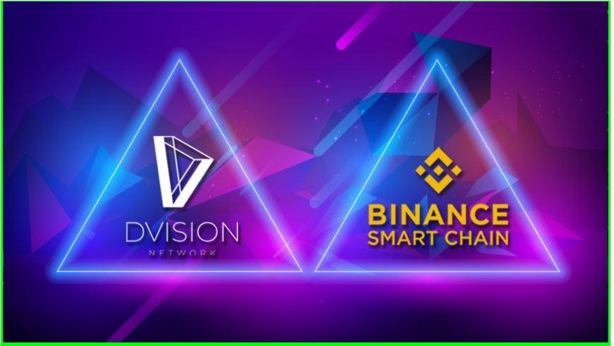 Dvision Network para implementar el token BEP-20 en Binance Smart Chain