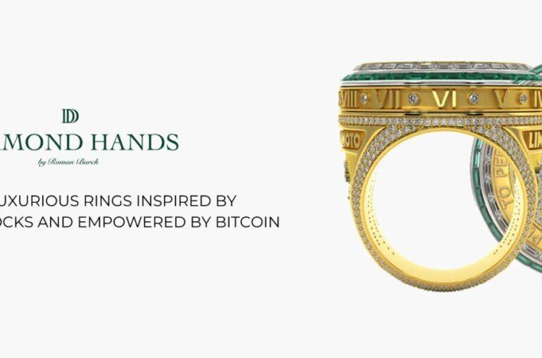 Los lujosos anillos inspirados en UniSocks y potenciados por Bitcoin