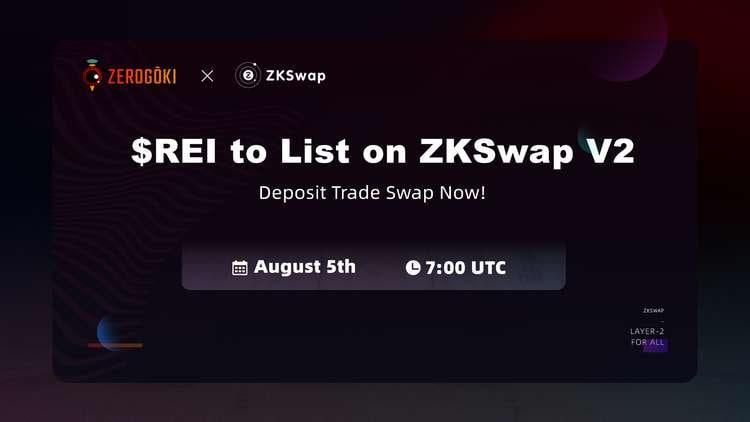 ZKSwap listará el activo sintético vinculado al algoritmo Zerogoki
