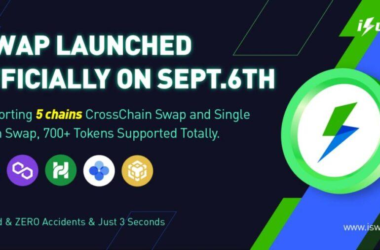 Huobi Ventures: iSwap lanza transacciones entre cadenas de 3 segundos